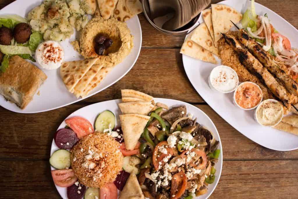 Comida griega Tipica