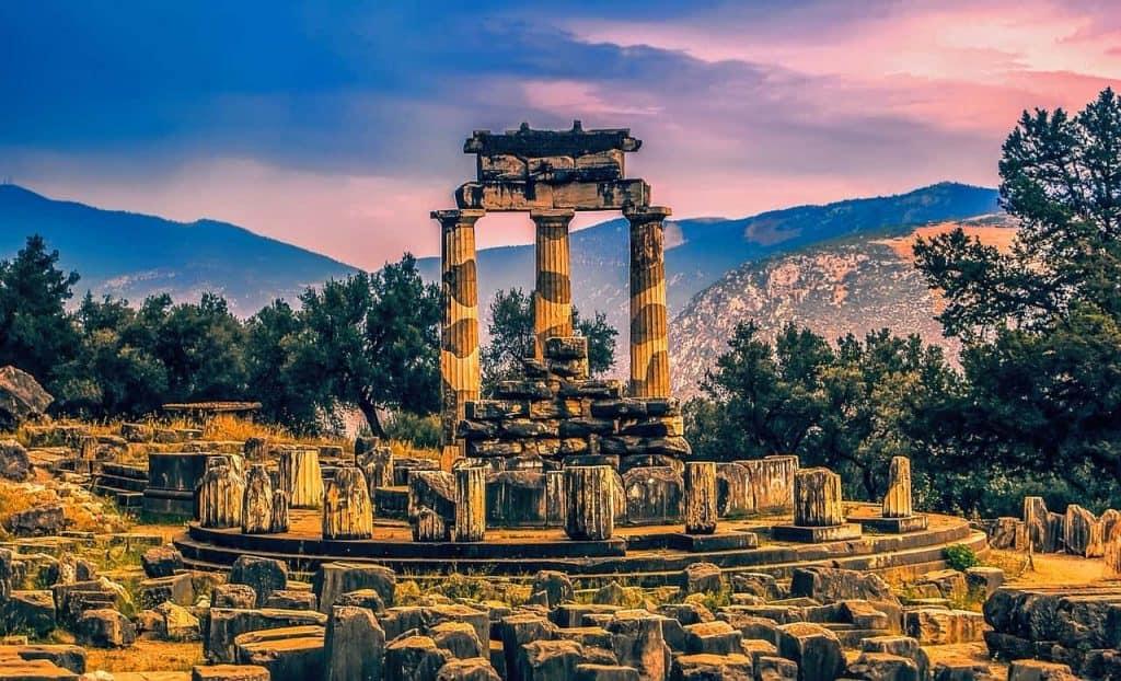 Templo Atenea Delfos