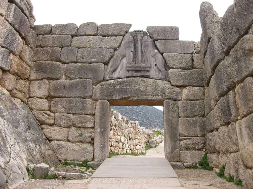 Puerta Leon Micenas