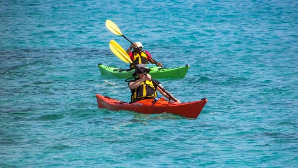 Kayak Peloponeso